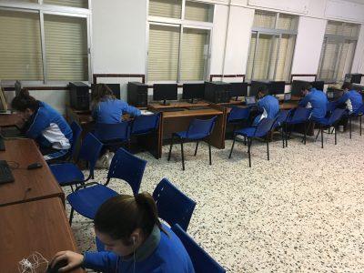 Todos muy ilusionados y preparados para concursar Colegio Huerta De la Cruz de Algeciras