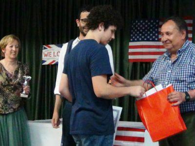 IES FERROL VELLO - FERROL (A CORUÑA) Jose Valdivieso, 1º premio provincial 2º ESO