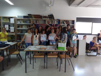 IES Sierra de Santa Bárbara, Plasencia (Cáceres). Alumnos de 1° ESO
