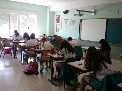 LA DEVESA SCHOOL CARLET Valencia,España. Los alumnos participan en el concurso con gran motivación.