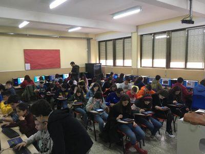 Alumnos del Colegio Milagrosa Las Nieves de 2º y 3º de ESO participan en el concurso. Está siendo una experiencia muy enriquecedora.
