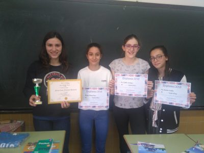 Colegio Corazón de María, Zamora Premios 1°ESO