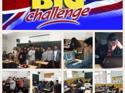 Having fun again with the Big Challenge Contest! ESCOLA ANNA RAVELL, Barcelona