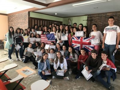 MILAGROSA LAS NIEVES. Avila Alumnos de 1º ESO reciben sus premios