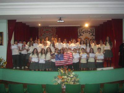 Colegio Santa María de Gracia (Madres Agustinas) Huelva. Primer Premio Provincial