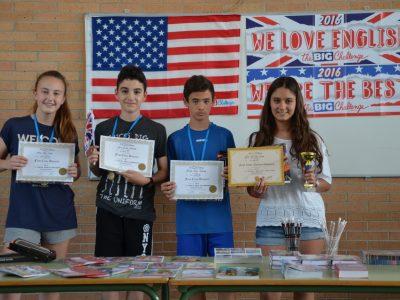 AGUADULCE ( ALMERIA) IES.CARLOS III Nuestros alumnos están muy contentos de sus resultados y desean participar el curso próximo!!!
