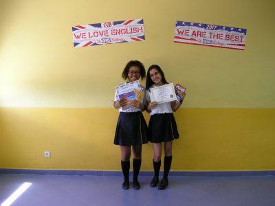 COLEGIO DIOCESANO MARÍA INMACULADA (Carabanchel) - Felicitamos a las ganadoras de 3º ESO por sus excelentes resultados.
