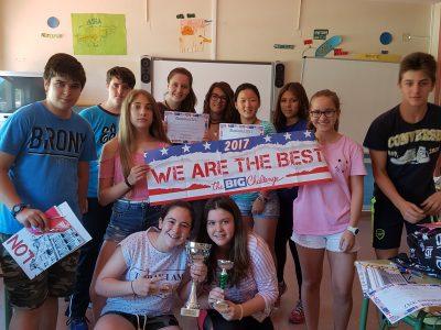 IESO Mar de Castilla. Participantes ganadores de cada nivel. Congratulations!!!