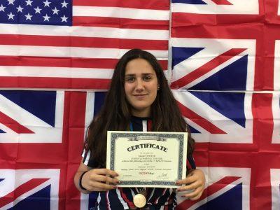 Alumna ganadora del Institut Guindàvols - Lleida