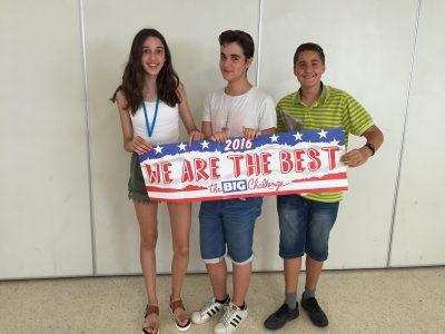 Felicidades a los alumnos ganadores de 2°ESO, IES Alt Penedés, Vilafranca del Penedés, Barcelona