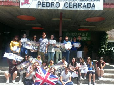 IES PEDRO CERRADA-UTEBO (ZARAGOZA)ESPAÑA 3° ESO