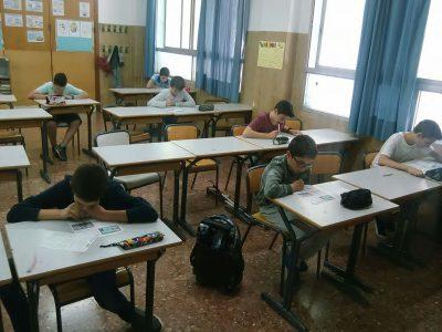Colegio Plurilingüe Martí Sorolla, Valencia,España  1º eso with The Big Challenge.