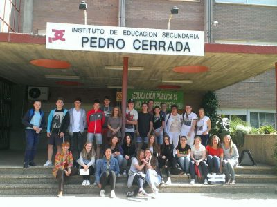 IES PEDRO CERRADA- UTEBO(ZARAGOZA) ESPAÑA 3° ESO
