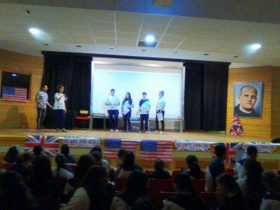 ¡Los alumnos del Colegio Amor de Dios de Cádiz en la ceremonia de premiosde The Big Challenge 2016!
