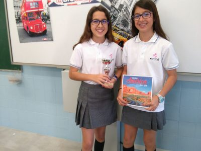 Badajoz. Colegio Marista Ntra. Sra. del Carmen. 2º ESO 1º premio provincial.
