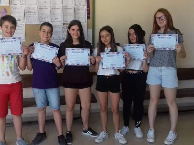 IES L´ESTACIÓ ONTINYENT  Un año más nuestro centro ha participado en el concurso Big Challenge. Contentos y orgullosos de la clasificación de nuestros alumnos. Hasta el año que viene!