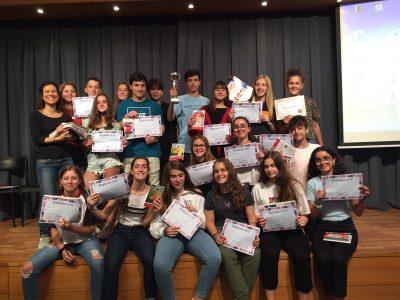 Col·legi Lestonnac Barcelona - participantes premiados 2n ESO