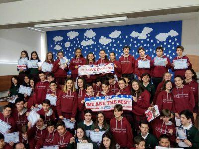 Colegio Loyola Oviedo 1° ESO CONGRATULATIONS!!!!!