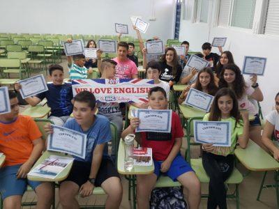 IES SANJE ( ALCANTARILLA) MURCIA  Nuestros alumnos disfrutaron de la entrega de diplomas y obsequios a los mejores puestos . El año que viene esperamos mejorar los resultados trabajando desde el minuto 0 !