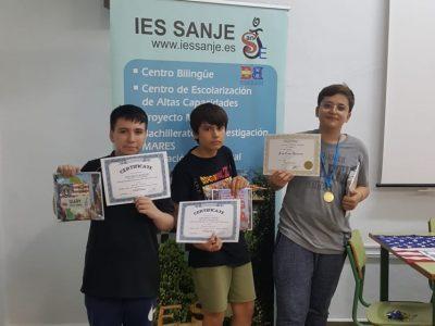 IES Sanje ( Alcantarilla) Murcia  Ganadores 1ESO
