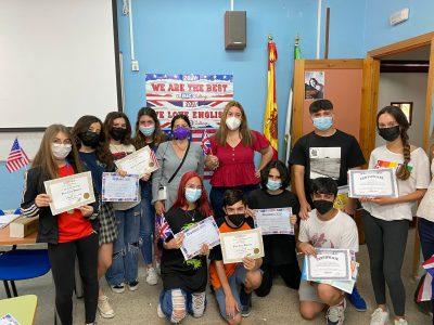 IES Camas-Antonio Brisquet, Camas, Sevilla Primeros alumnos de 3ºESO