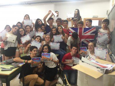 Alumnos de 3° ESO Colegio Corazòn de María, Zamora