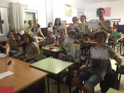 Colegio Corazòn de María, Zamora Alumnos de 3°ESO