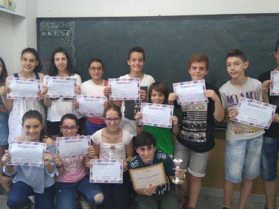 Colegio Corazòn de Maria, Zamora Alumnos de 1° ESO
