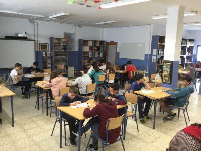 IES Los Molinos, Conil. Nuestro alumnado participando en Big Challenge