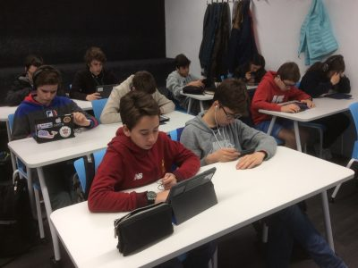 Ready for Big Challenge . Zürich Schule Barcelona