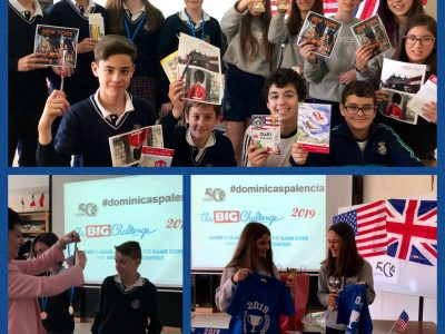 Santo Domingo de Guzmán, Dominicas Palencia. Congratulations to the winners! Learning by playing is really motivating for students. It has been a great experience, again.