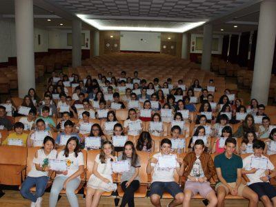 Todos los alumnos que participaron - Colegio Santa Teresa de Jesús - Carmelitas Ourense