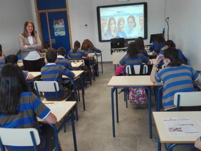 COLEGIO MAGDA,CEUTÍ-España  Working hard!