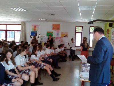 El Ejido, Colegio Internacional SEK Alborán. Entrega de Premios The Big Challenge.