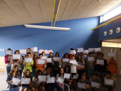 SIES La Muela, La Muela, Zaragoza. Por primera vez,nuestro Instituto ha participado en el concurso.Esperamos poder participar muchos años más.
