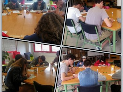 FERROL, IES FERROL VELLO 4TH YEAR STUDENTS TAKING THE BIG CHALLENGER