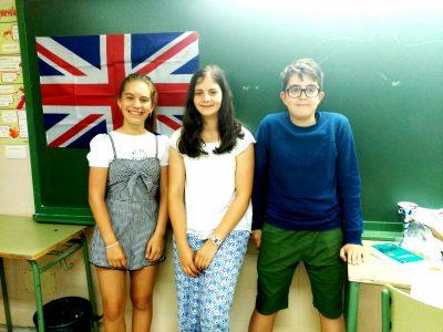 IES A Sangriña de A Guarda. Ana, Paula y Mateo, 1° de ESO.
