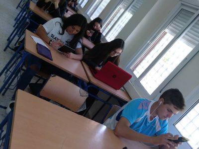 IES Las Palomas de Algeciras. Más alumnos de primero y tercero ilusionados con The Big Challenge!!