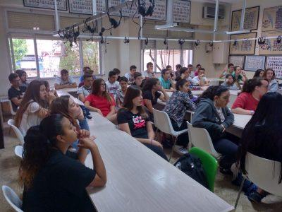 Ceremonia de entrega de premios para los alumnos del Colegio Liceo Hispano, Paterna (Valencia)