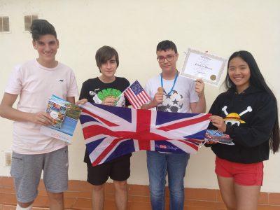 Participantes ganadores del Colegio Liceo Hispano, Paterna (Valencia)