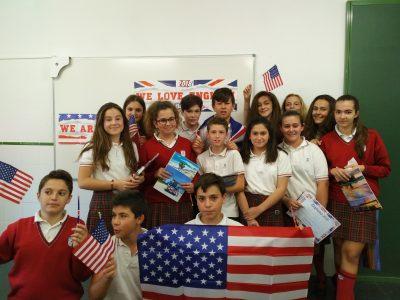 Colegio Zazuar, Madrid. Clase de 1º de ESO.