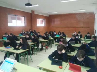 Badajoz Colegio Salesianos Ramón Izquierdo Los alumnos han estado muy motivados con.el concurso!!
