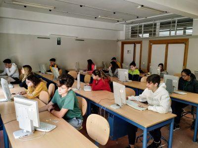 IES Virgen del Castillo Lebrija (Sevilla) ¡Los alumnos quieren volver a participar el próximo curso!
