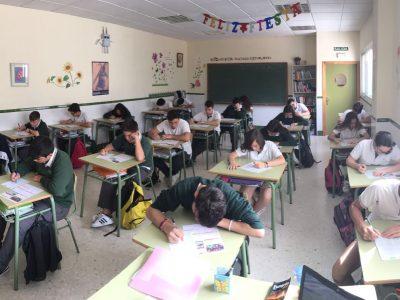 Málaga. Colegio Espíritu Santo. 3º ESO - A