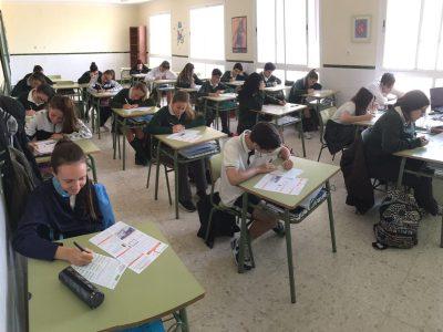 Málaga. Colegio Espíritu Santo. 3º ESO-B