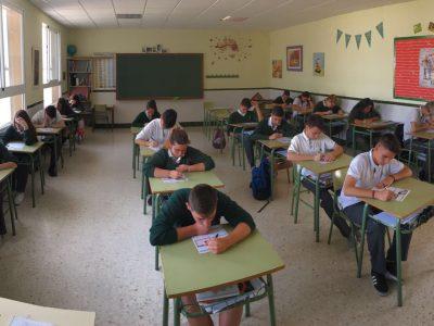 Málaga. Colegio Espíritu Santo. 4º ESO