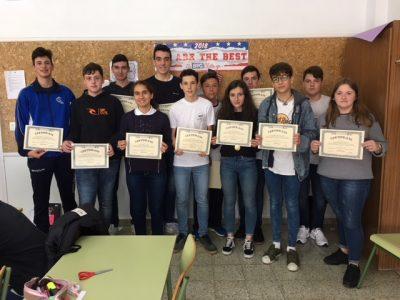 COLEGIO DIOCESANO MARÍA INMACULADA (Carabanchel) - Un gran número de participantes en 1º ESO a los que animamos a inscribirse en la convocatoria del próximo curso.