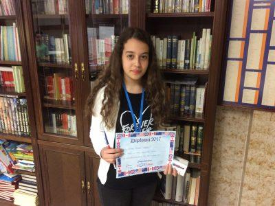 Tatiana Ribeiro. First Prize 1º ESO Paula Montal School, Vitoria- Gasteiz