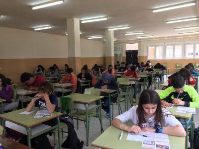 Arévalo, IES Eulogio Florentino Sanz Silence and concentration!