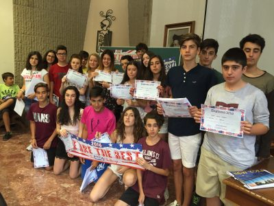 Los alumnos de 3ro ESO, colegio Teresià de Tortosa